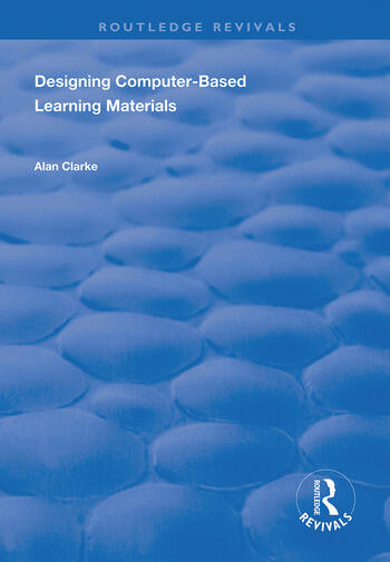 Designing Computer-Based Learning Materials book cover