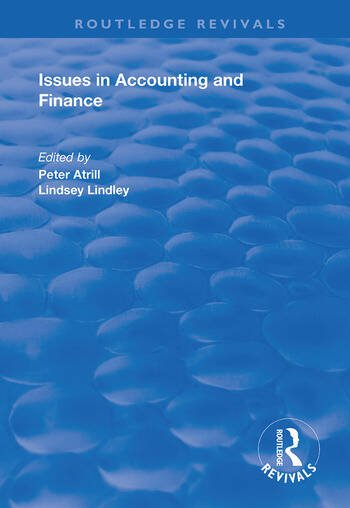 Issues in Accounting and Finance book cover