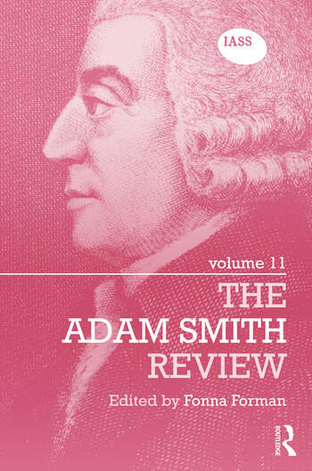 The Adam Smith Review Volume 11 book cover