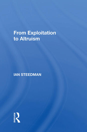 From Exploitation To Altruism book cover