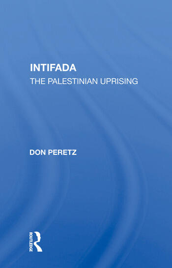 Intifada The Palestinian Uprising book cover