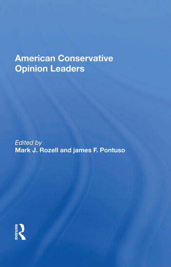 American Conservative Opinion Leaders book cover