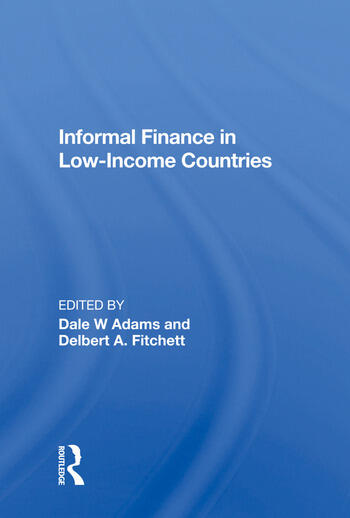 Informal Finance in Low-Income Countries book cover