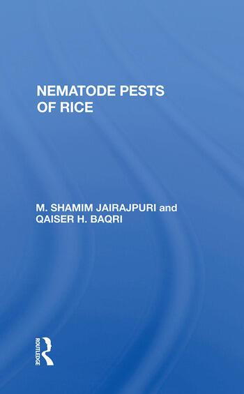 Nematode Pests Of Rice book cover