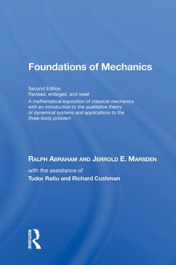 Foundations Of Mechanics (on Demand Printing Of 30102) book cover