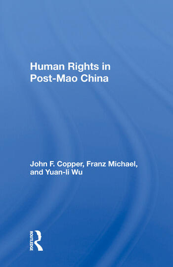 Human Rights In Post-mao China book cover