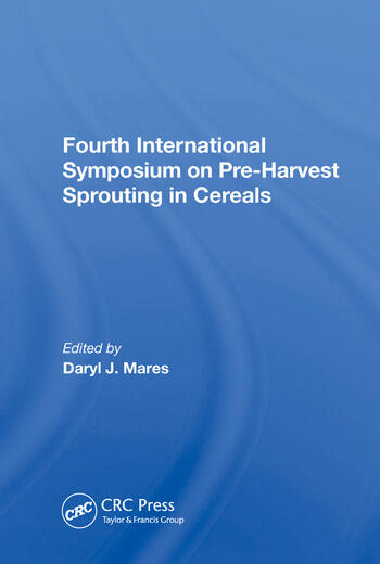 Fourth International Symposium On Pre-harvest Sprouting In Cereals book cover