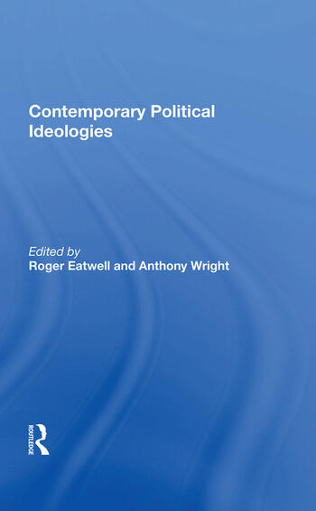 Contemporary Political Ideologies book cover