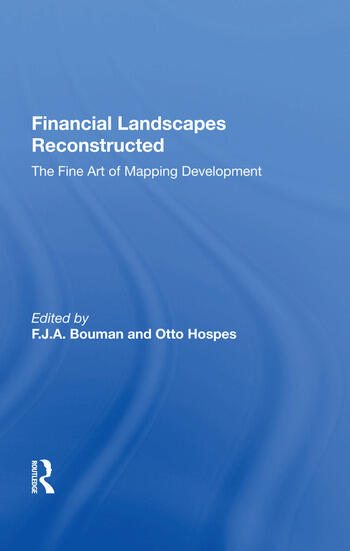 Financial Landscapes Reconstructed The Fine Art of Mapping Development book cover