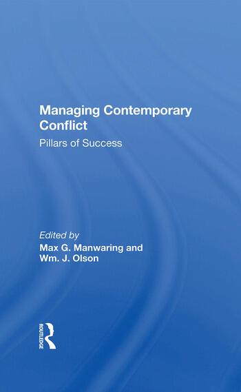 Managing Contemporary Conflict Pillars Of Success book cover
