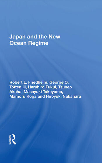 Japan and the New Ocean Regime book cover