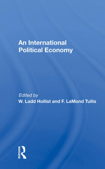 An International Political Economy book cover