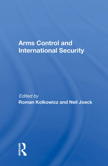 Arms Control and International Security book cover