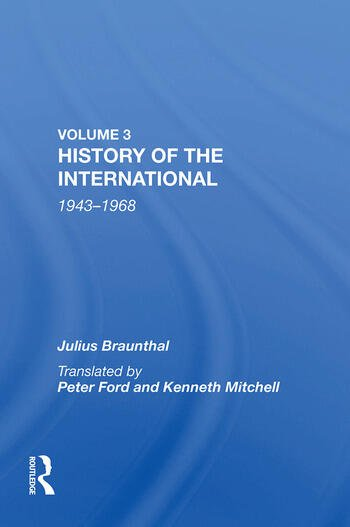History of the International 1943-1968 book cover