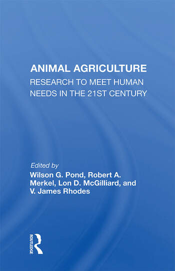 Animal Agriculture Research To Meet Human Needs In The 21st Century book cover