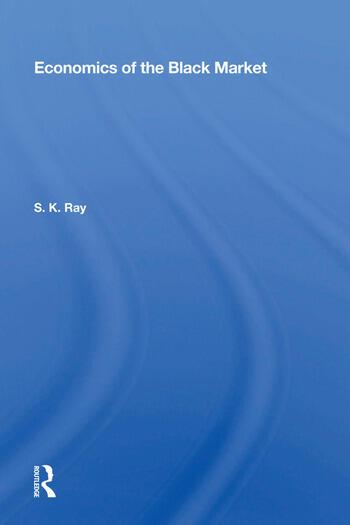 Economics of the Black Market book cover