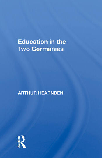 Education in the Two Germanies book cover