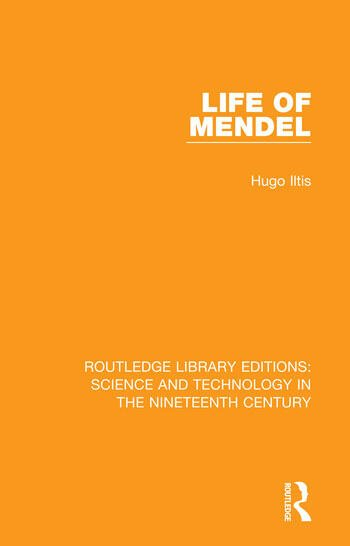 Life of Mendel book cover