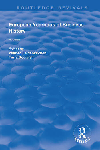 The European Yearbook of Business History Volume 2 book cover