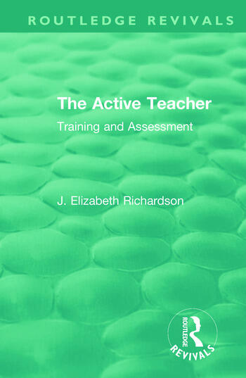 The Active Teacher Training and Assessment book cover