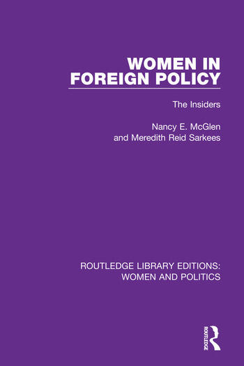 Women in Foreign Policy The Insiders book cover