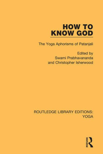 How to Know God The Yoga Aphorisms of Patanjali book cover