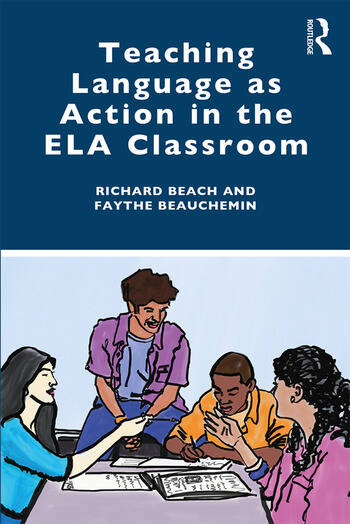 Teaching Language as Action in the ELA Classroom book cover