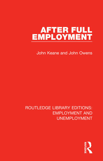 After Full Employment book cover