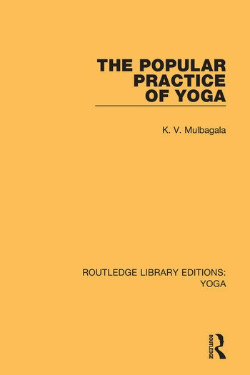 The Popular Practice of Yoga book cover