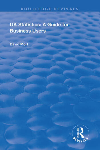 UK Statistics A Guide for Business Users book cover
