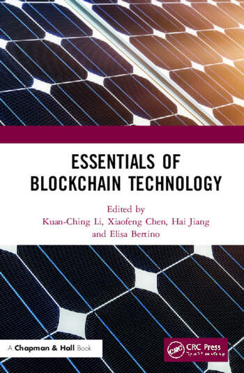 Essentials of Blockchain Technology book cover