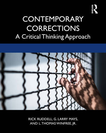 Contemporary Corrections A Critical Thinking Approach book cover
