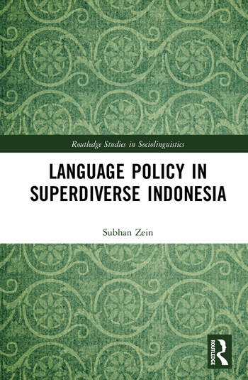 Language Policy in Superdiverse Indonesia book cover