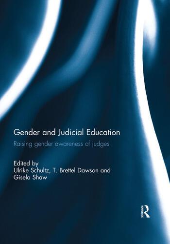 Gender and Judicial Education Raising Gender Awareness of Judges book cover