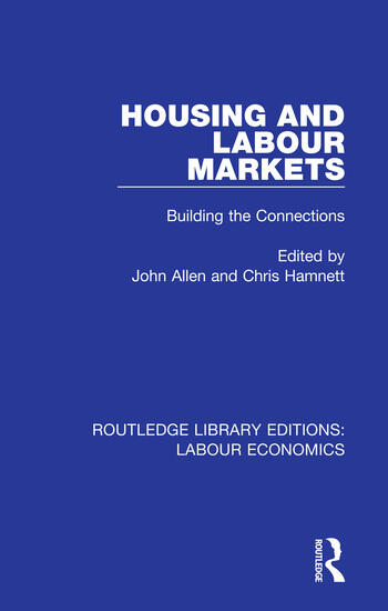 Housing and Labour Markets Building the Connections book cover