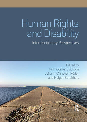 Human Rights and Disability Interdisciplinary Perspectives book cover