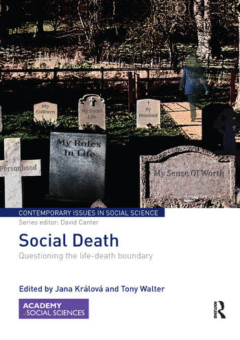 Social Death Questioning the life-death boundary book cover