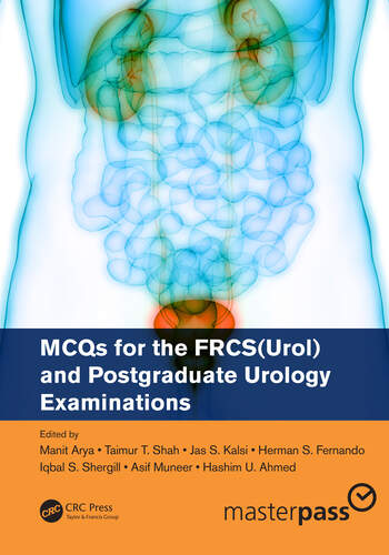 MCQs for the FRCS(Urol) and Postgraduate Urology Examinations book cover