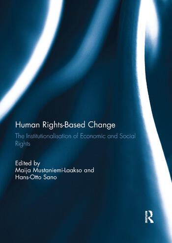 Human Rights-Based Change The Institutionalisation of Economic and Social Rights book cover