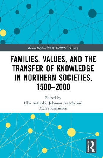 Families, Values, and the Transfer of Knowledge in Northern Societies, 1500–2000 book cover