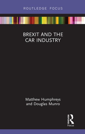 Brexit and the Car Industry book cover