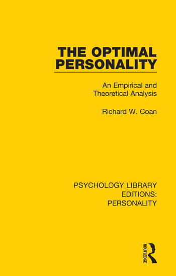 The Optimal Personality An Empirical and Theoretical Analysis book cover