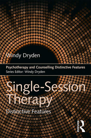 Single-Session Therapy Distinctive Features book cover