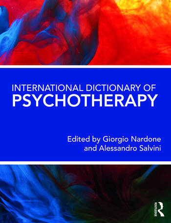 International Dictionary of Psychotherapy book cover