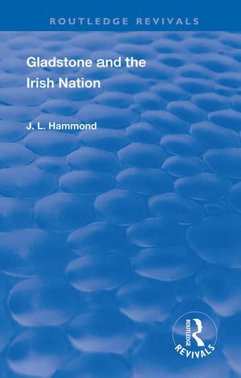 Gladstone and the Irish Nation book cover