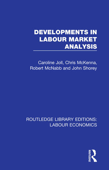 Developments in Labour Market Analysis book cover