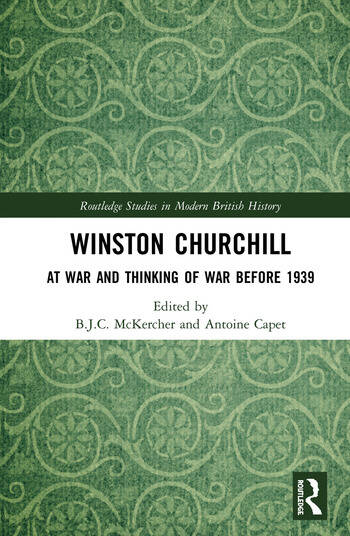 Winston Churchill At War and Thinking of War before 1939 book cover
