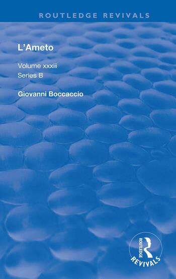 L'Ameto book cover
