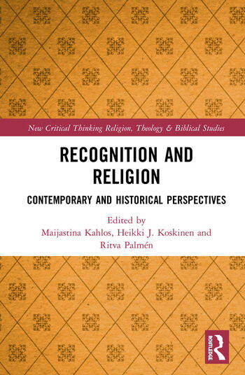 Recognition and Religion Contemporary and Historical Perspectives book cover