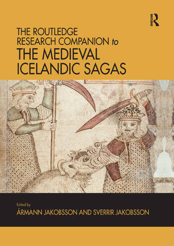 The Routledge Research Companion to the Medieval Icelandic Sagas book cover